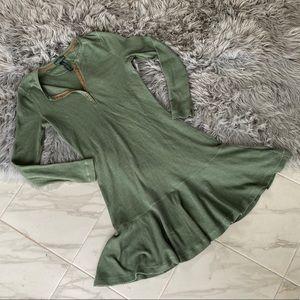 Lauren Ralph Lauren Henley Drop Waist Dress